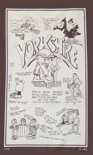3998-9100 - Yorkshire Dialect Teat Towel